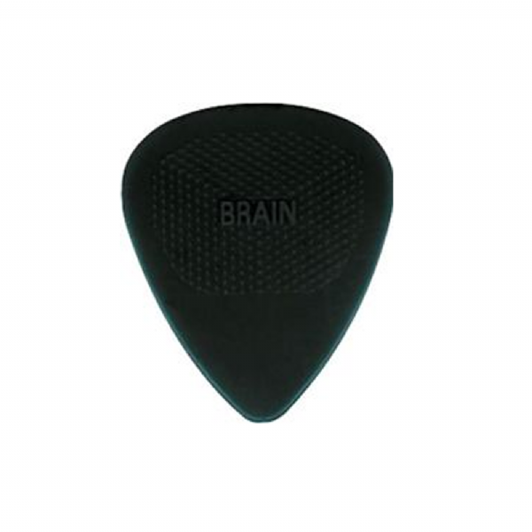 Snarling Dogs Brain Picks Set .88mm Black MD/HVY (12 Plectrums) Supplied in Tin